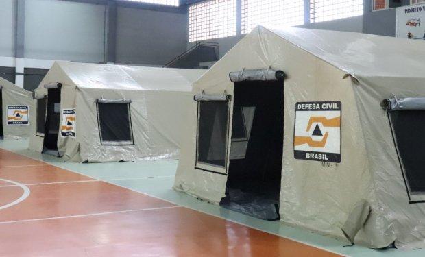 Gaspar ativa Centro de Triagem no Ginásio no João dos Santos