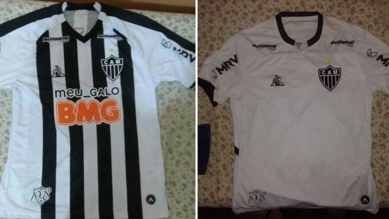 Imagens de supostas novas camisas do Atlético-MG circulam nas redes