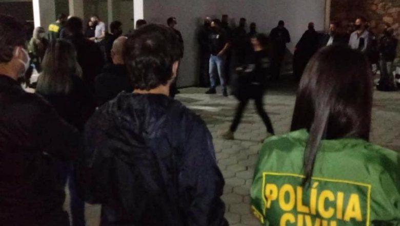 POLÍCIA CIVIL E MPSC DEFLAGRAM A OPERAÇÃO SEIVAL 2