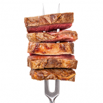 Modere na carne pelo bem do intestino