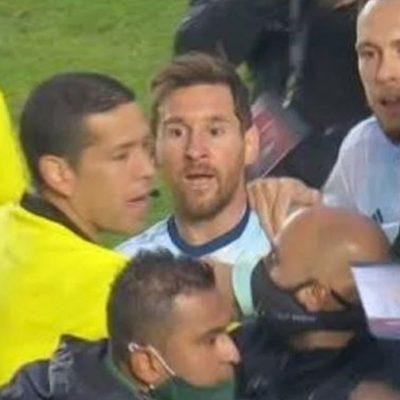 Messi pistola! Craque argentino discute feio com Marcelo Moreno e comissão técnica da Bolívia