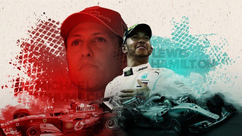 Hamilton x Schumacher: compare as trajetórias dos recordistas da F1 quando venceram pela 91ª vez